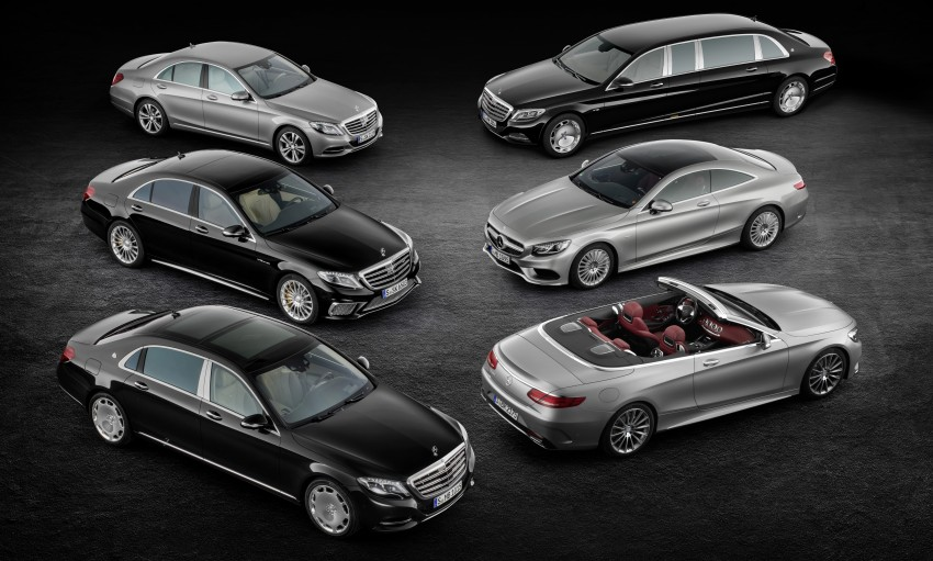Mercedes-Benz S-Class Cabriolet officially revealed Image #374198
