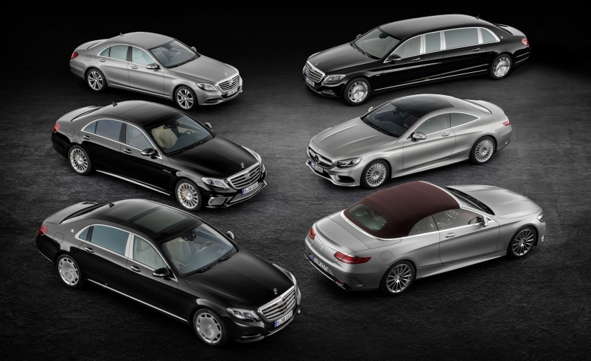 Mercedes-Benz S-Class Cabriolet officially revealed Image #374199