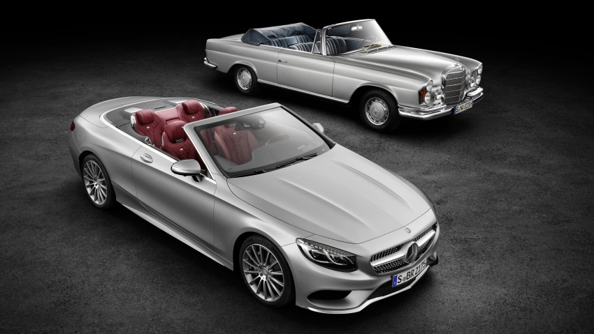 Mercedes-Benz S-Class Cabriolet officially revealed Image #374200