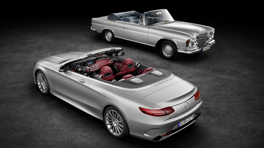 Mercedes-Benz S-Class Cabriolet officially revealed Image #374201