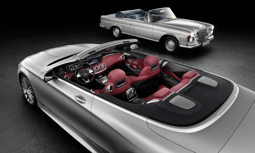 Mercedes-Benz S-Class Cabriolet officially revealed Image #374202