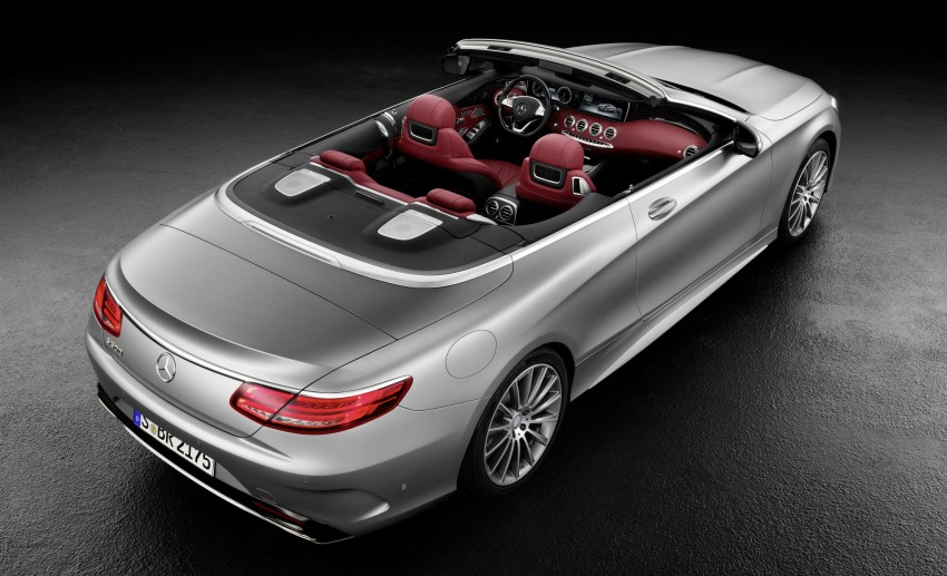 Mercedes-Benz S-Class Cabriolet officially revealed Image #374203
