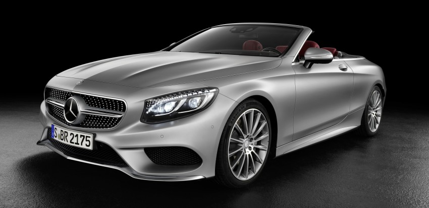 Mercedes-Benz S-Class Cabriolet officially revealed Image #374204