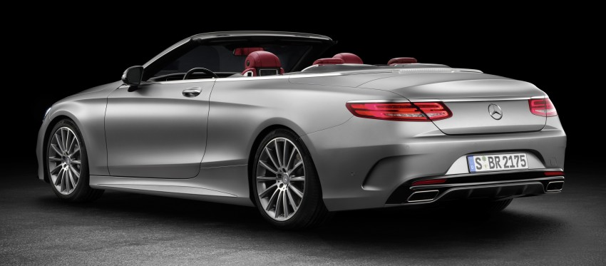 Mercedes-Benz S-Class Cabriolet officially revealed Image #374205