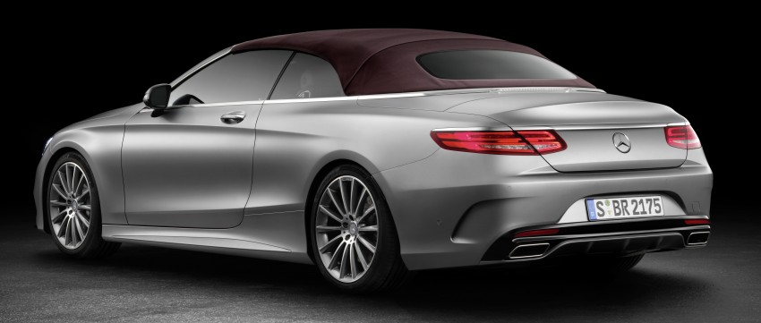 Mercedes-Benz S-Class Cabriolet officially revealed Image #374206