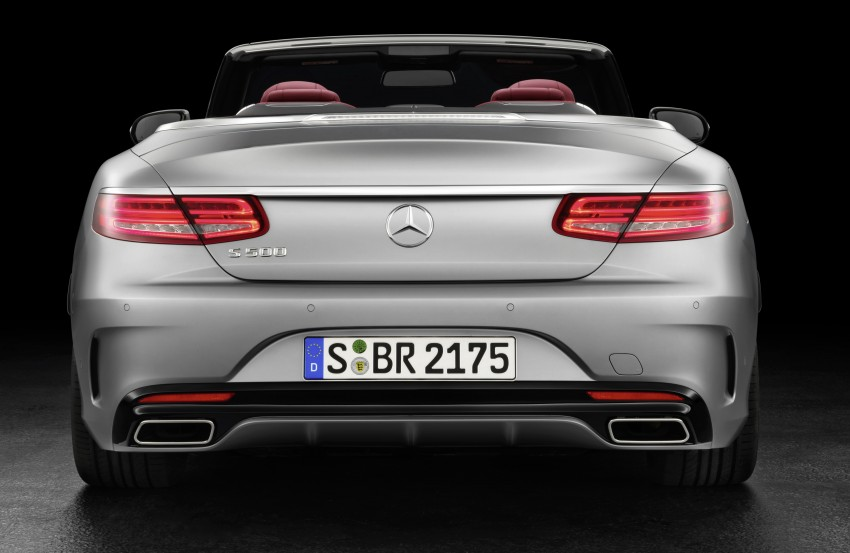 Mercedes-Benz S-Class Cabriolet officially revealed Image #374208