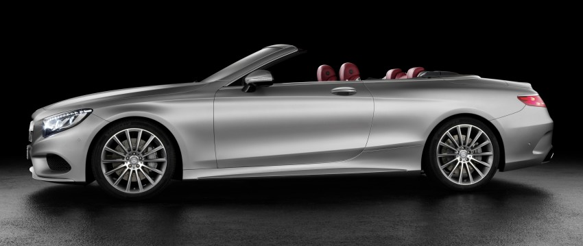 Mercedes-Benz S-Class Cabriolet officially revealed Image #374210