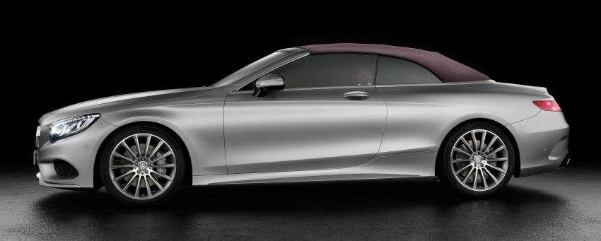 Mercedes-Benz S-Class Cabriolet officially revealed Image #374211