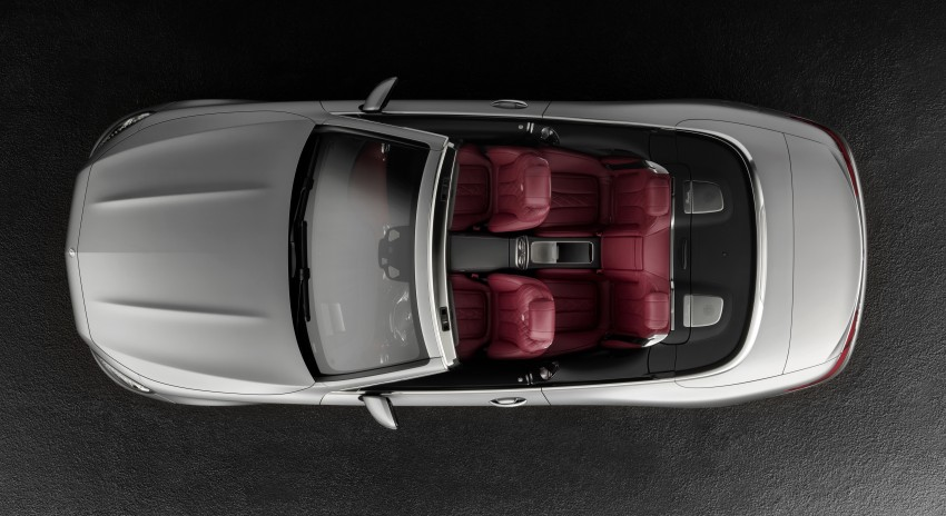 Mercedes-Benz S-Class Cabriolet officially revealed Image #374212