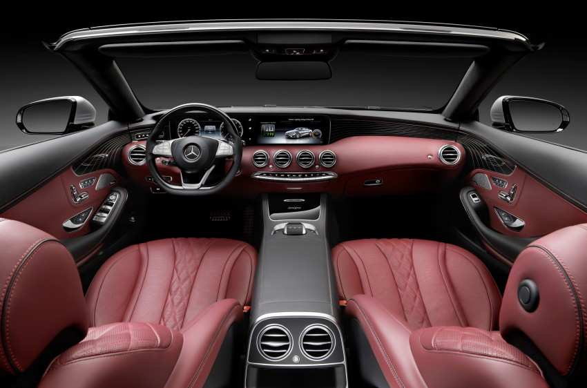 Mercedes-Benz S-Class Cabriolet officially revealed Image #374216