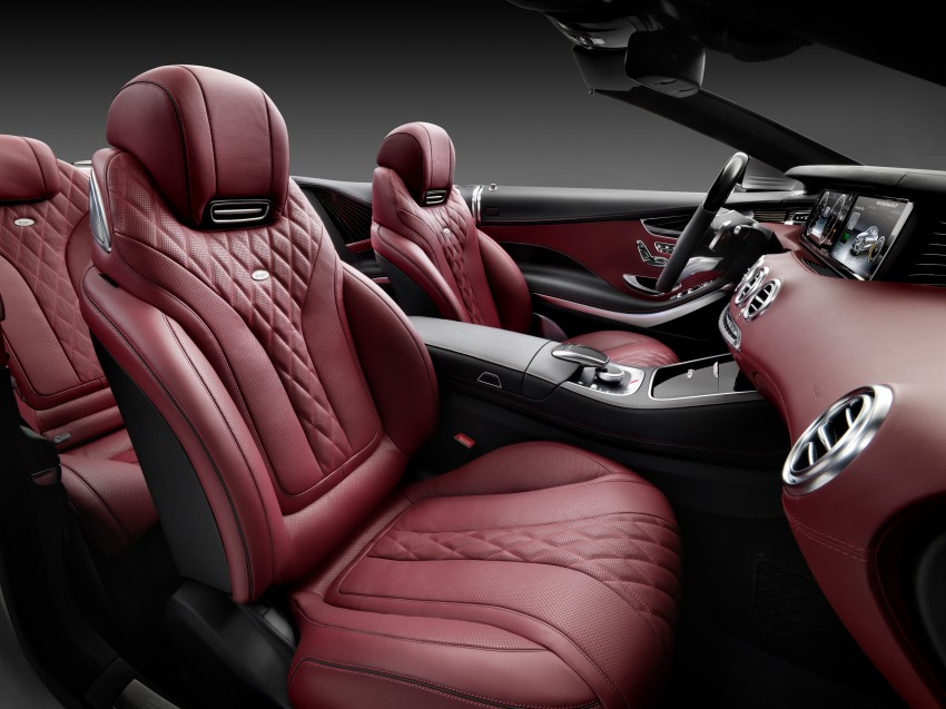Mercedes-Benz S-Class Cabriolet officially revealed Image #374218