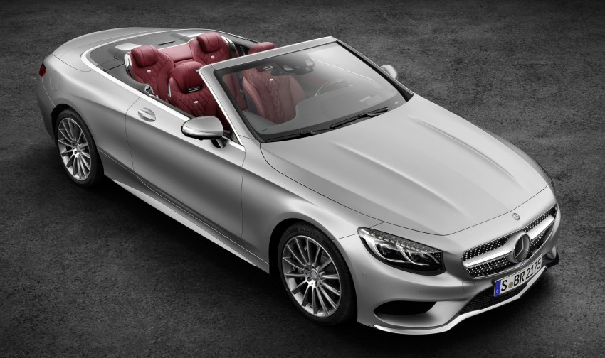 Mercedes-Benz S-Class Cabriolet officially revealed Image #374219