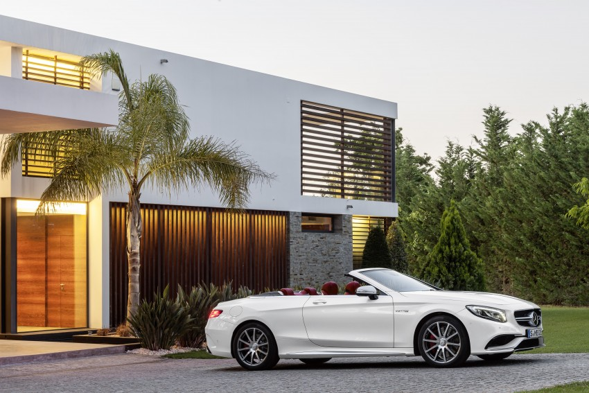 Mercedes-Benz S-Class Cabriolet officially revealed Image #374220