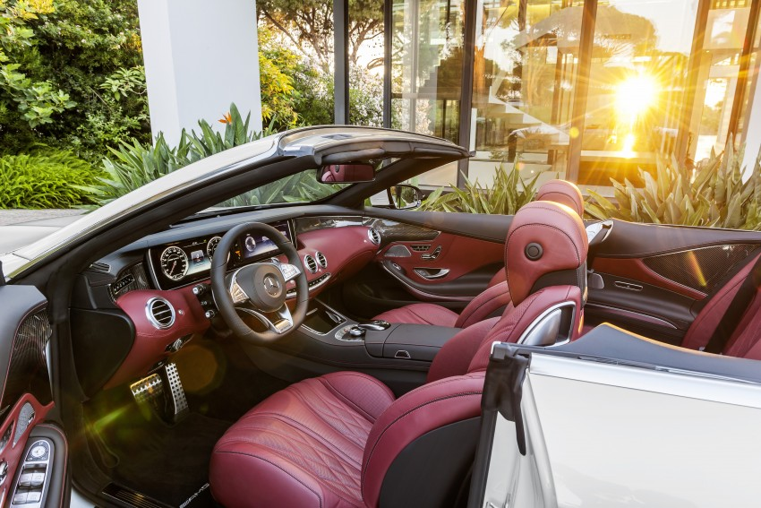 Mercedes-Benz S-Class Cabriolet officially revealed Image #374221