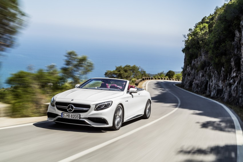 Mercedes-Benz S-Class Cabriolet officially revealed Image #374223