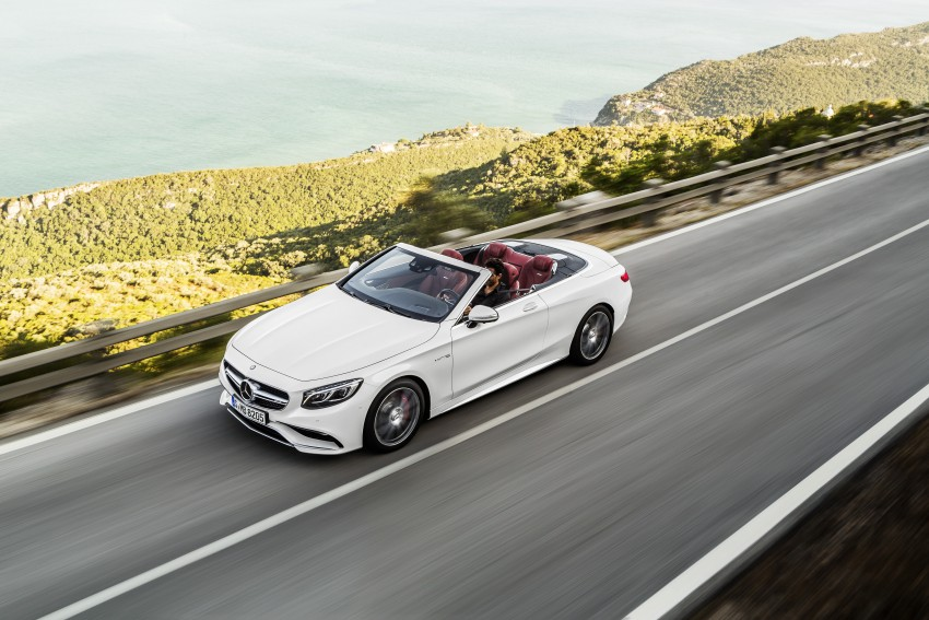 Mercedes-Benz S-Class Cabriolet officially revealed Image #374224