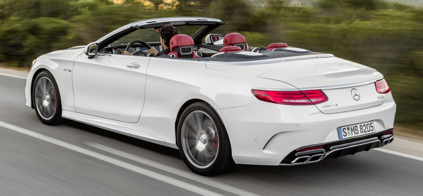 Mercedes-Benz S-Class Cabriolet officially revealed Image #374225
