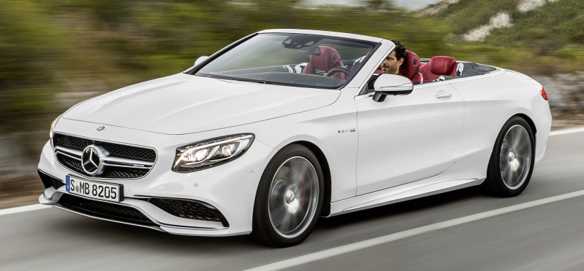 Mercedes-Benz S-Class Cabriolet officially revealed Image #374226