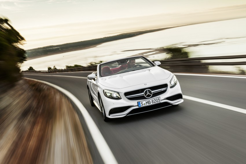 Mercedes-Benz S-Class Cabriolet officially revealed Image #374227
