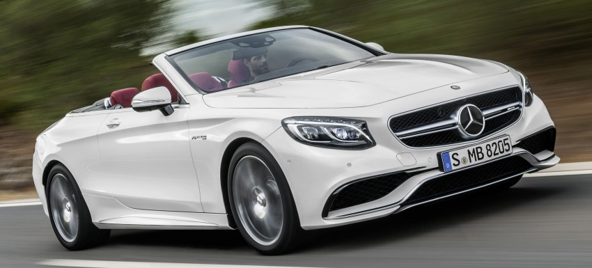 Mercedes-Benz S-Class Cabriolet officially revealed Image #374228