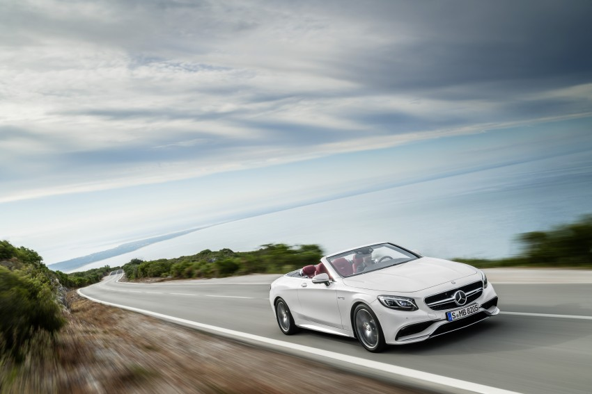 Mercedes-Benz S-Class Cabriolet officially revealed Image #374229