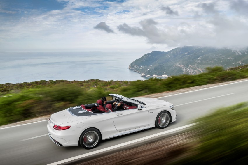 Mercedes-Benz S-Class Cabriolet officially revealed Image #374230