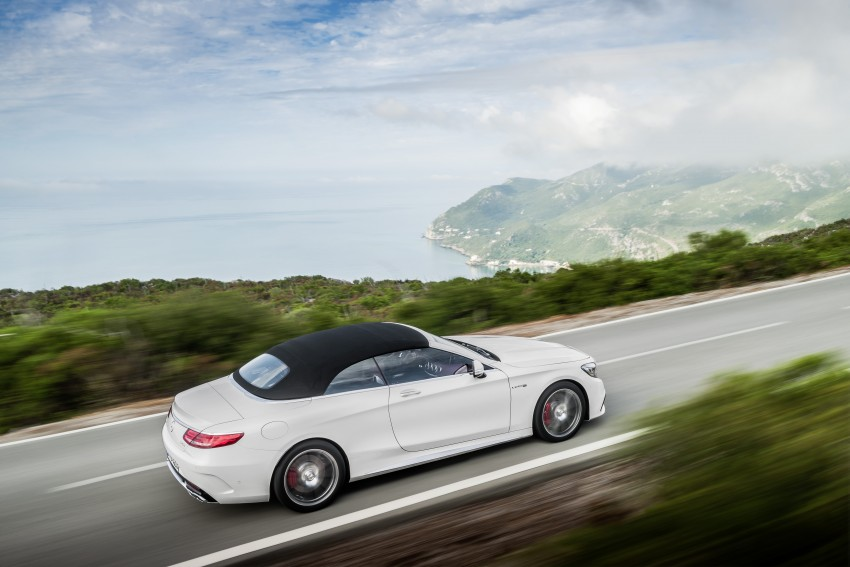 Mercedes-Benz S-Class Cabriolet officially revealed Image #374231