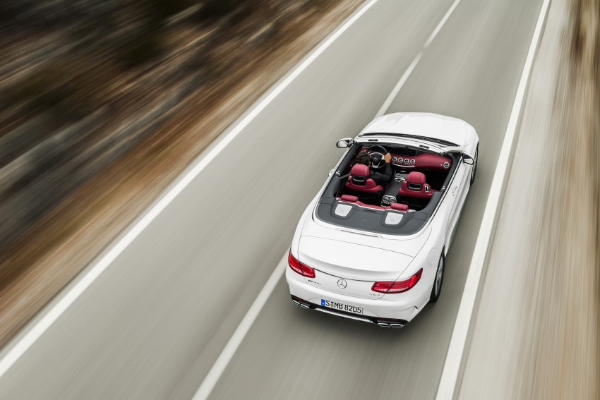 Mercedes-Benz S-Class Cabriolet officially revealed Image #374232