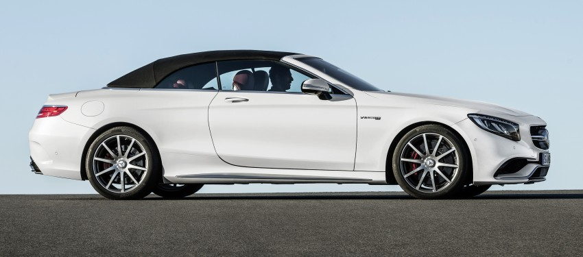 Mercedes-Benz S-Class Cabriolet officially revealed Image #374233