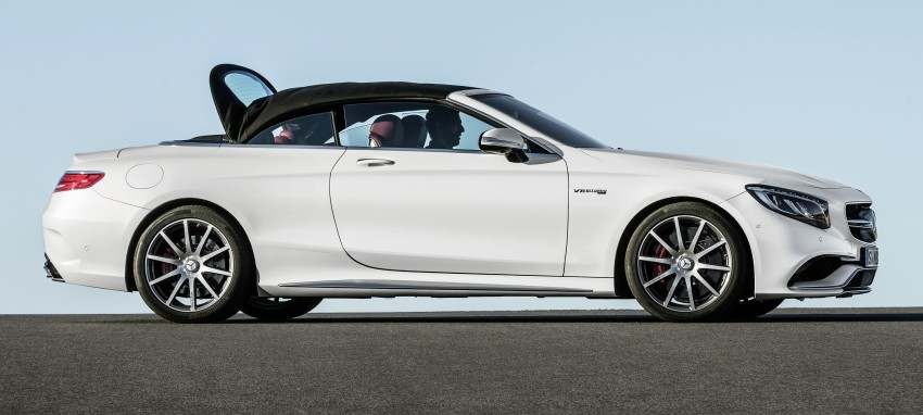 Mercedes-Benz S-Class Cabriolet officially revealed Image #374234