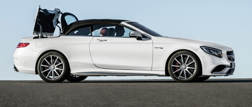 Mercedes-Benz S-Class Cabriolet officially revealed Image #374235