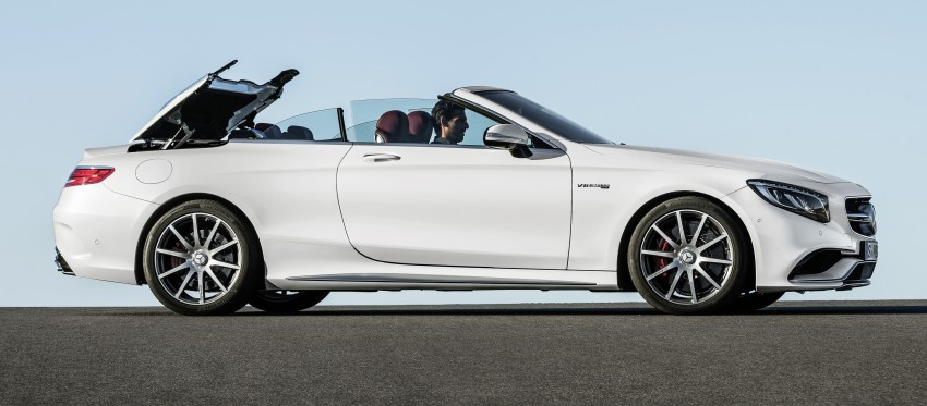 Mercedes-Benz S-Class Cabriolet officially revealed Image #374237