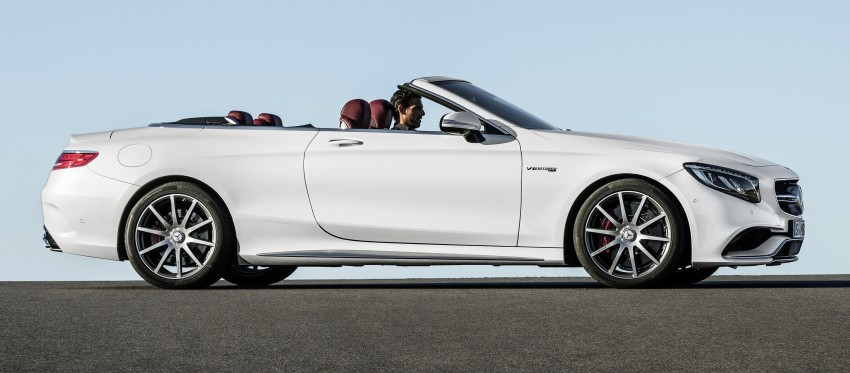 Mercedes-Benz S-Class Cabriolet officially revealed Image #374238