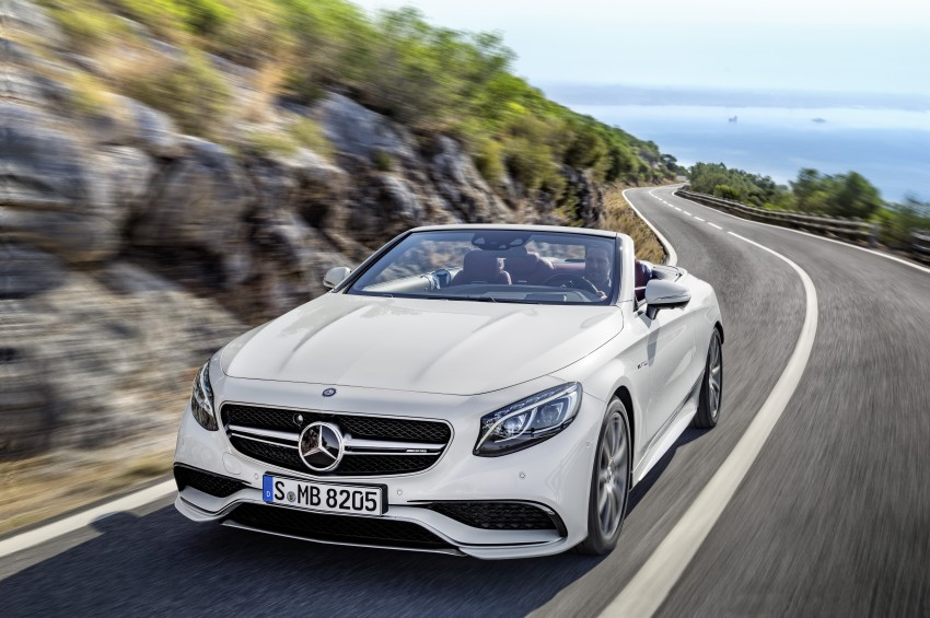 Mercedes-Benz S-Class Cabriolet officially revealed Image #374240