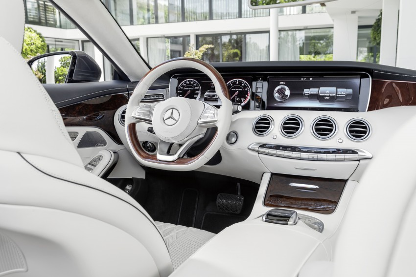 Mercedes-Benz S-Class Cabriolet officially revealed Image #374242