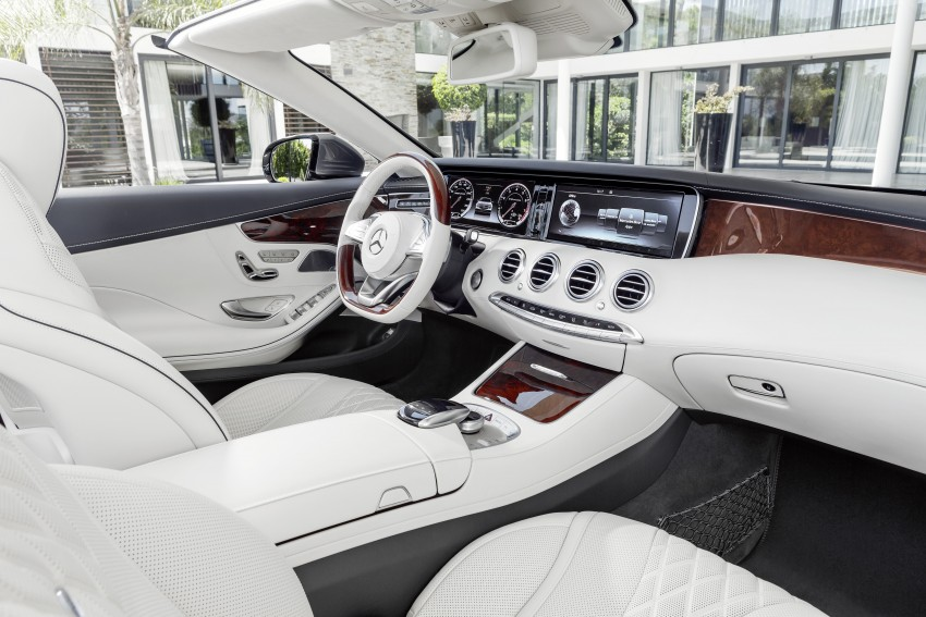 Mercedes-Benz S-Class Cabriolet officially revealed Image #374243