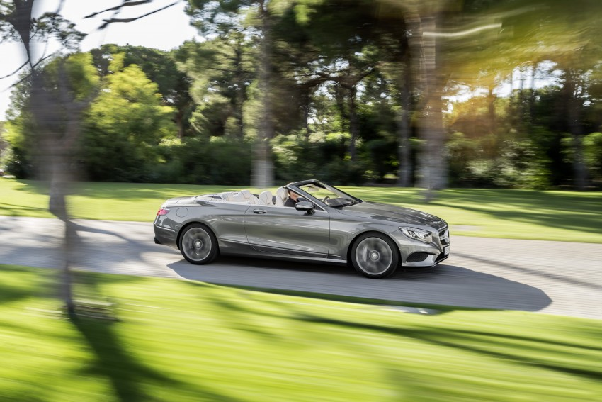 Mercedes-Benz S-Class Cabriolet officially revealed Image #374245