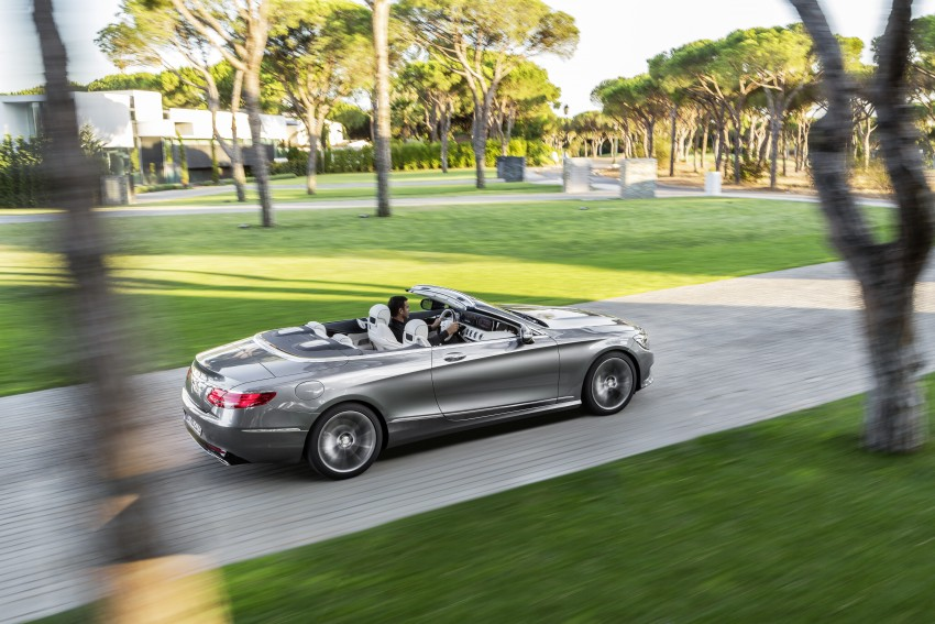 Mercedes-Benz S-Class Cabriolet officially revealed Image #374246