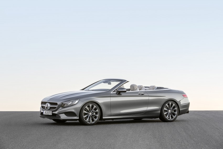 Mercedes-Benz S-Class Cabriolet officially revealed Image #374247