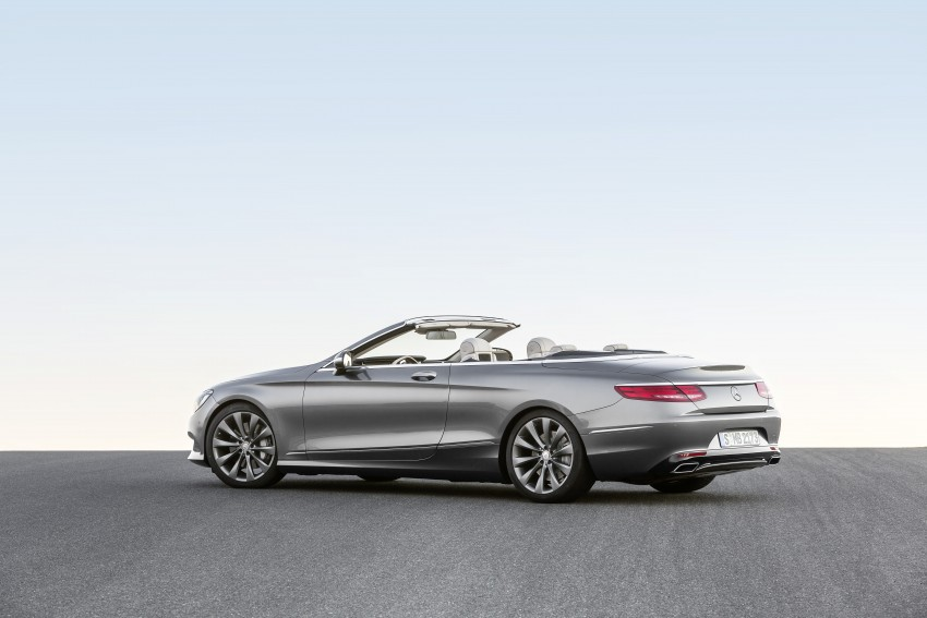 Mercedes-Benz S-Class Cabriolet officially revealed Image #374248