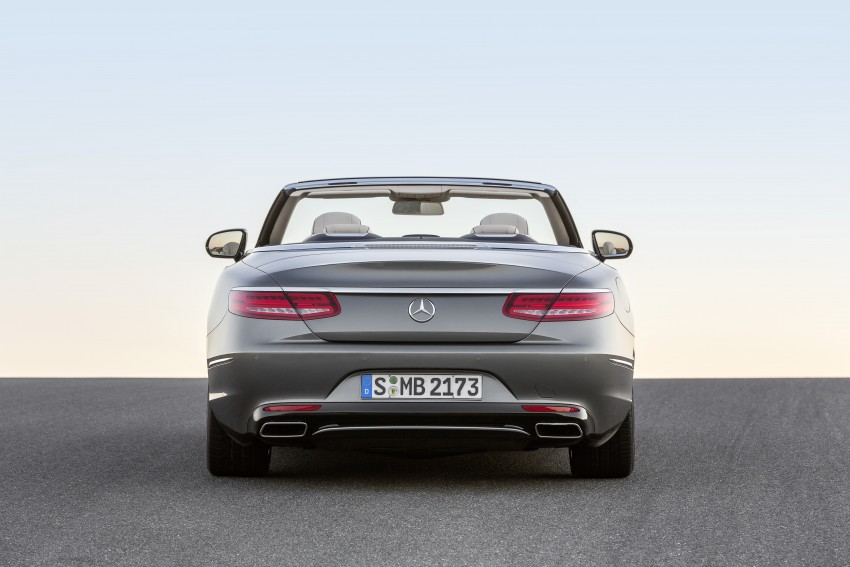 Mercedes-Benz S-Class Cabriolet officially revealed Image #374249