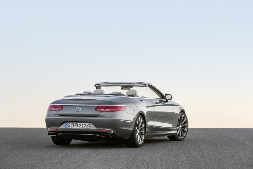 Mercedes-Benz S-Class Cabriolet officially revealed Image #374250