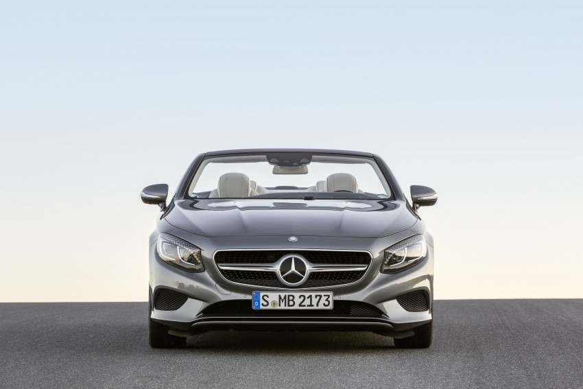 Mercedes-Benz S-Class Cabriolet officially revealed Image #374251
