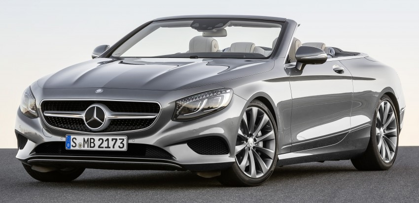 Mercedes-Benz S-Class Cabriolet officially revealed Image #374252