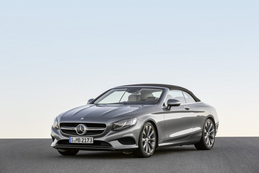 Mercedes-Benz S-Class Cabriolet officially revealed Image #374253