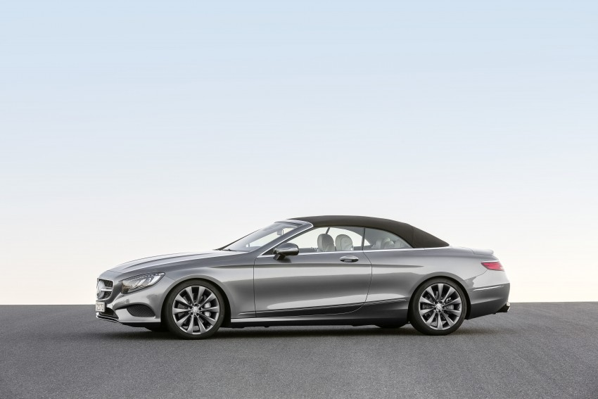 Mercedes-Benz S-Class Cabriolet officially revealed Image #374254