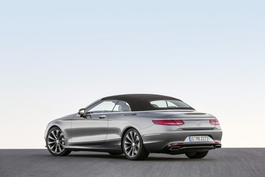 Mercedes-Benz S-Class Cabriolet officially revealed Image #374257