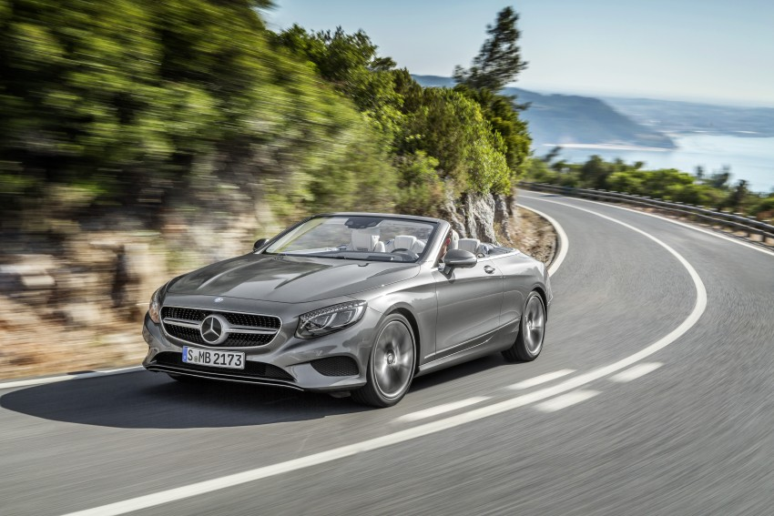 Mercedes-Benz S-Class Cabriolet officially revealed Image #374258