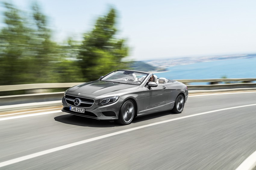 Mercedes-Benz S-Class Cabriolet officially revealed Image #374260
