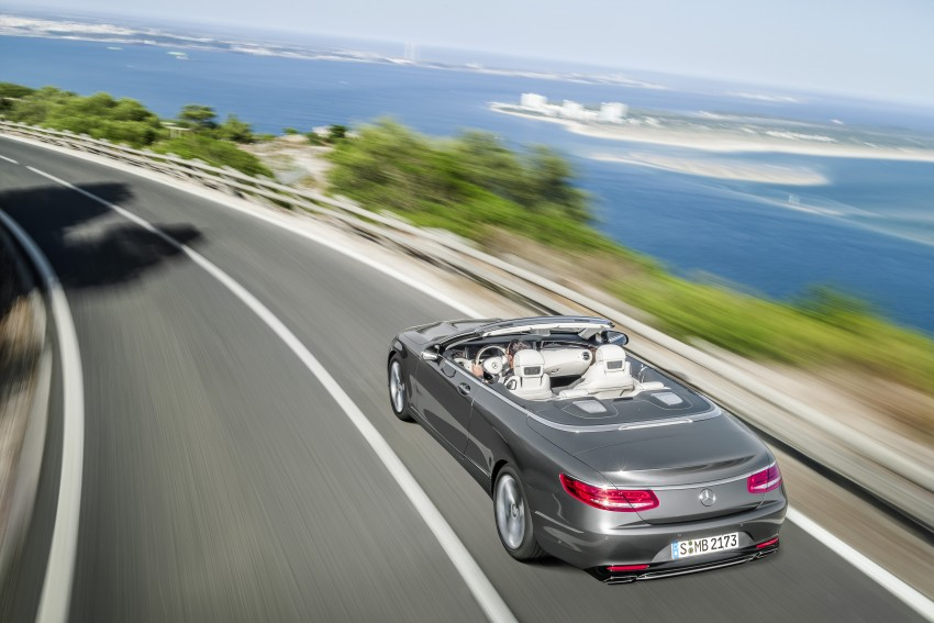 Mercedes-Benz S-Class Cabriolet officially revealed Image #374261